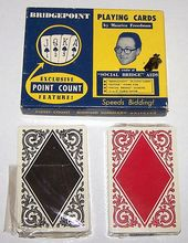 "Double Deck Arrco ""Bridgepoint"" Playing Cards, Bridgepoint Playing Card Co. Publisher, c.1945"