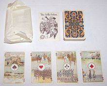 """Ets. Brepols S.A. """"Premiere Guerre Mondiale II"""" Playing Cards, c.1919"""