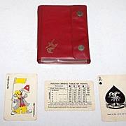 "Double Deck ""Remy Martin"" Playing Cards, Auction Bridge Set, Hong Kong Maker (Arrco Courts), c.1930s"