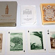 "Fournier ""Monumentos de Espana"" Souvenir Playing Cards, c.1959"