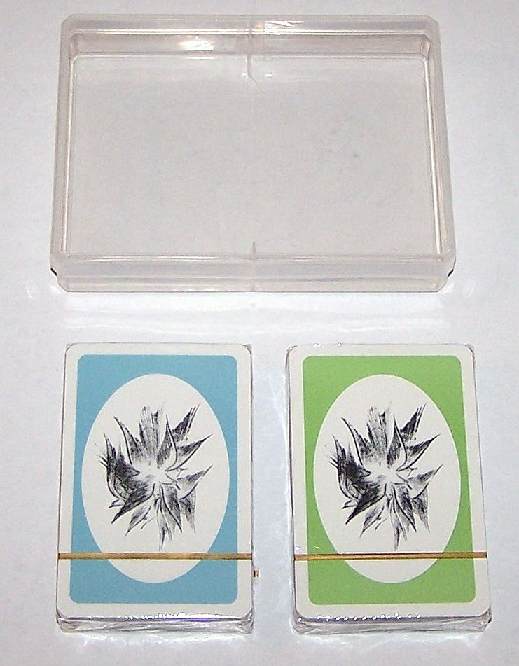 "Double Deck Piatnik ""Anton Lehmden"" Playing Cards, Edition Hilger, Anton Lehmden Designs, c.1981"