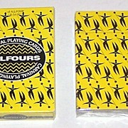 """Carnival Allfours"" Playing Cards, Canadian Maker, Gabby Wookham Designs, Trinidad Carnival Designs"