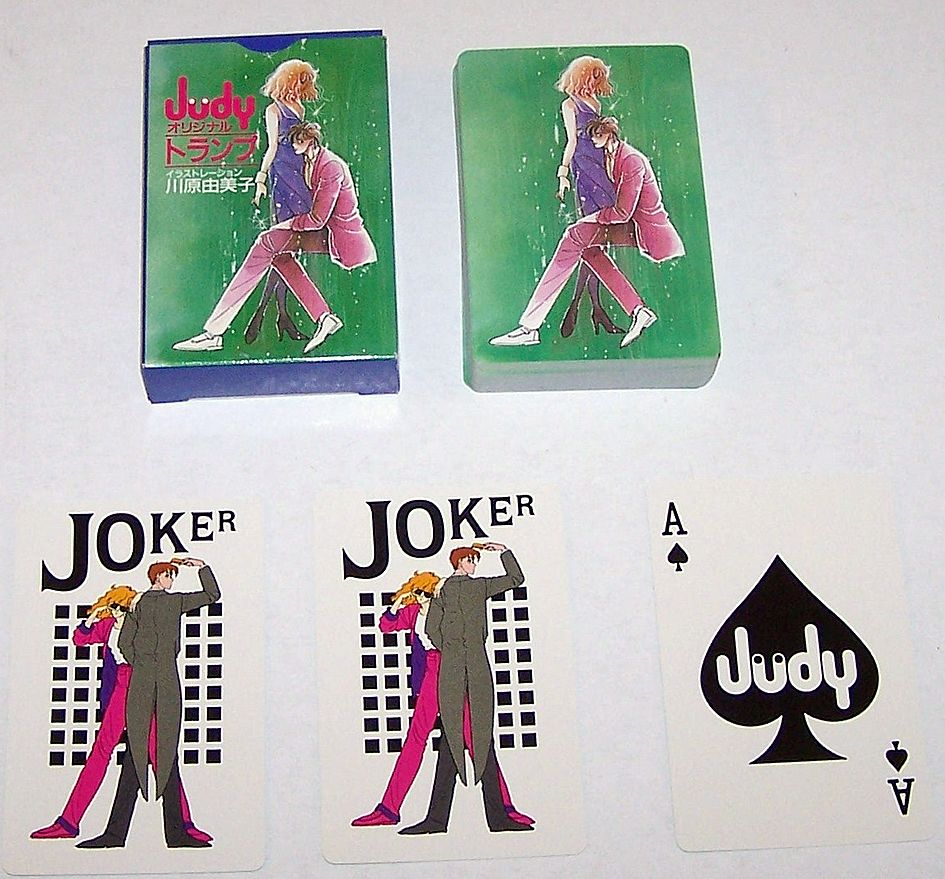 "Nintendo ""Judy"" Playing Cards, Shogakukan Adv., c.1983"