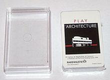 "Piatnik ""Play Architecture"" Playing Cards, Finnish Building Center (Rakennustieto) Publisher, c.1990"
