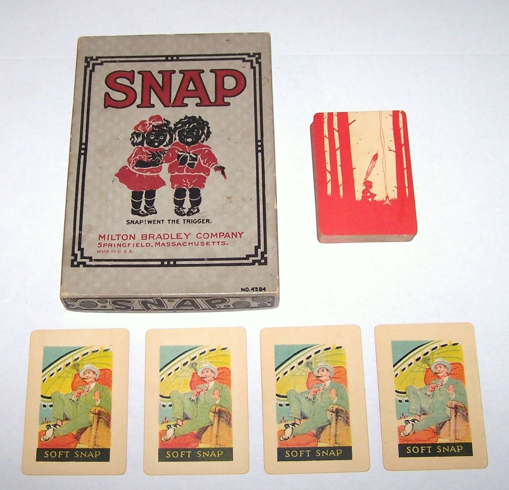 "Milton Bradley ""Snap"" Card Game, c.1905"