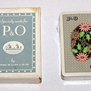 "De La Rue ""P&O"" Maritime Playing Cards, c.1930s?"
