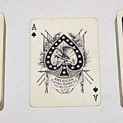 "Double Deck American Playing Card Company (Kalamazoo) ""Golf"" Playing Cards (52/52, No Joker), c.1895"