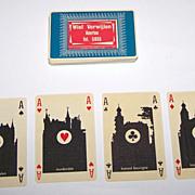 """Drukkerij Juten """"De Kloof"""" Klaverjas Playing Cards, Walter Hagenaars Designs, c.1969"""