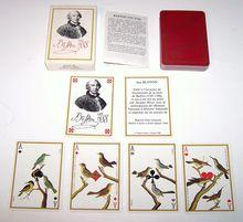 "Grimaud ""Jeu Buffon"" Playing Cards, Jacques Hiver Designs, c. 1988"