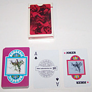 "2 Decks ""Riker Norgesic"" Advertising Playing Cards, Makers Unknown, 3M Company Publisher, c.1965-1970"