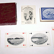 "Niagara Playing Card Company ""Niagara Falls Souvenir Cards,"" c. 1901"