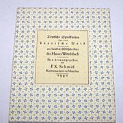 """F.X. Schmid """"Wittelsbach"""" Playing Cards, Ltd. Ed. (1605/2000), c.1980 (Reprint of 1819 """"Teutschen Spielkarten für das bayrische Volk,"""" Published by Johann Christoph Freiherr von Aretin, Joseph Peringer Designs)"""