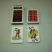 "Ets. Mesmaekers Freres ""Ecossaises"" (""Scottish"") Playing Cards, Standard Belgian Pattern, c.1960"