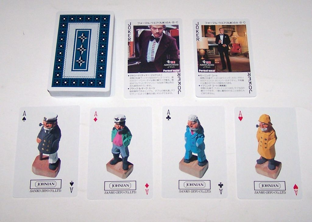 "Nintendo ""Sanko Iryo Co., Ltd. – Johnian Line"" Playing Cards, c.1976"