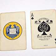 "USPC Edison Mazda ""Enchantment"" Playing Cards, Maxfield Parrish Design, c. 1926"