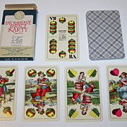 "Obchodni Tiskarny n.p. Kolin ""William Tell"" Playing Cards, c.1950-1988"