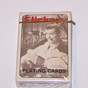 "Brown & Bigelow (Stancraft) ""Flickers"" Playing Cards, Creative Impressions Publisher, c.1974"