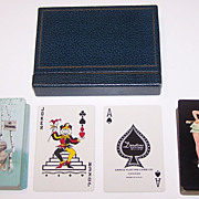 "Double Deck Arrco ""Edward D'Ancona"" Pin-Up Cards, Edward D'Ancona Designs, c.1950s"