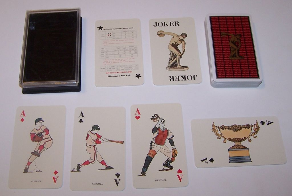 "Nintendo ""Mizuno"" Playing Cards, c.1974"