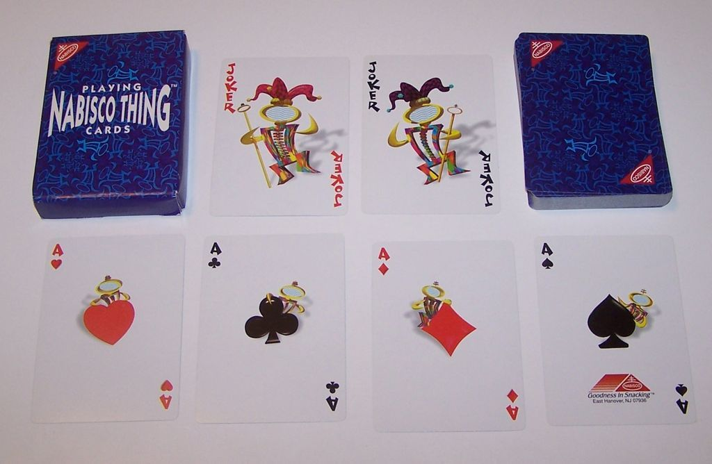 """Nabisco Thing"" Playing Cards, Maker Unknown, c.1996"