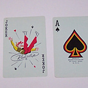 """Brown & Bigelow """"Flirtatious Felicia"""" Pin-Up Playing Cards, For J.T. Slocomb, Fritz Willis Designs, c.1961"""