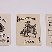 "USPC ""Fauntleroy 29"" Patience Playing Cards, ""The Earl,"" c.1915"