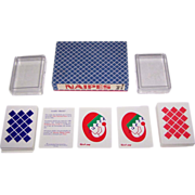 "Double Deck Productos Leo ""Naipe 'Frost'"", Palle Seiersen Frost Designs, Limited Edition (56/100), c.1990s"