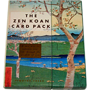 "Stewart, Tabori & Chang ""The Zen Koan Card Pack,""A Set of Fortune/Wisdom Cards and a Book, Timothy Freke Creator/Author"