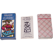 "AG Muller ""Tarot Classic"" Tarot Cards, U.S. Games Systems Publisher, c.1974"