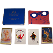 "Double Deck Brown & Bigelow ""Yeux Doux"" Pin-Up Playing Cards, Gil Elvgren and Zoe Mozert Designs, c.1946"