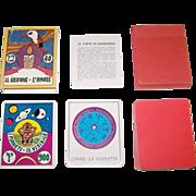 """Centro Immagini """"Le Carte di Halbatros"""" Fortune Telling and Wisdom Cards, Alessandro Bellenghi Designs, c.1976"""