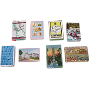 8 Decks Souvenir Playing Cards, Various Makers, $10/ea.