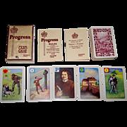"Castell Brothers, Ltd. (Pepys Series) ""Progress"" Card Game, John Bunyan's ""Pilgrim's Progress,"" c.1938"