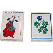 "Grimaud ""Jeu de la Revolution"" Playing Cards, Silvia Maddonni Designs, c.1988"