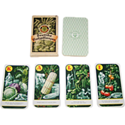 "Deutsches Kalisyndikat G.m.b.H. ""Kali-Quartett – Deutsche Nutzpflanzen"" (""Potash Quartett – German Crops"") Quartet Card Game, c.1930"