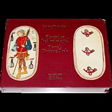 "Piatnik ""Flämisches Jagdkartenspiel"" (""Flemish Hunting Deck"") Playing Cards, Ltd. Ed. Facsimile Set [Originals c.1475-1480], c.1994"