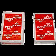 "Carta Mundi ""KLM"" Playing Cards, Max Velthuijs Designs, c.1970s"