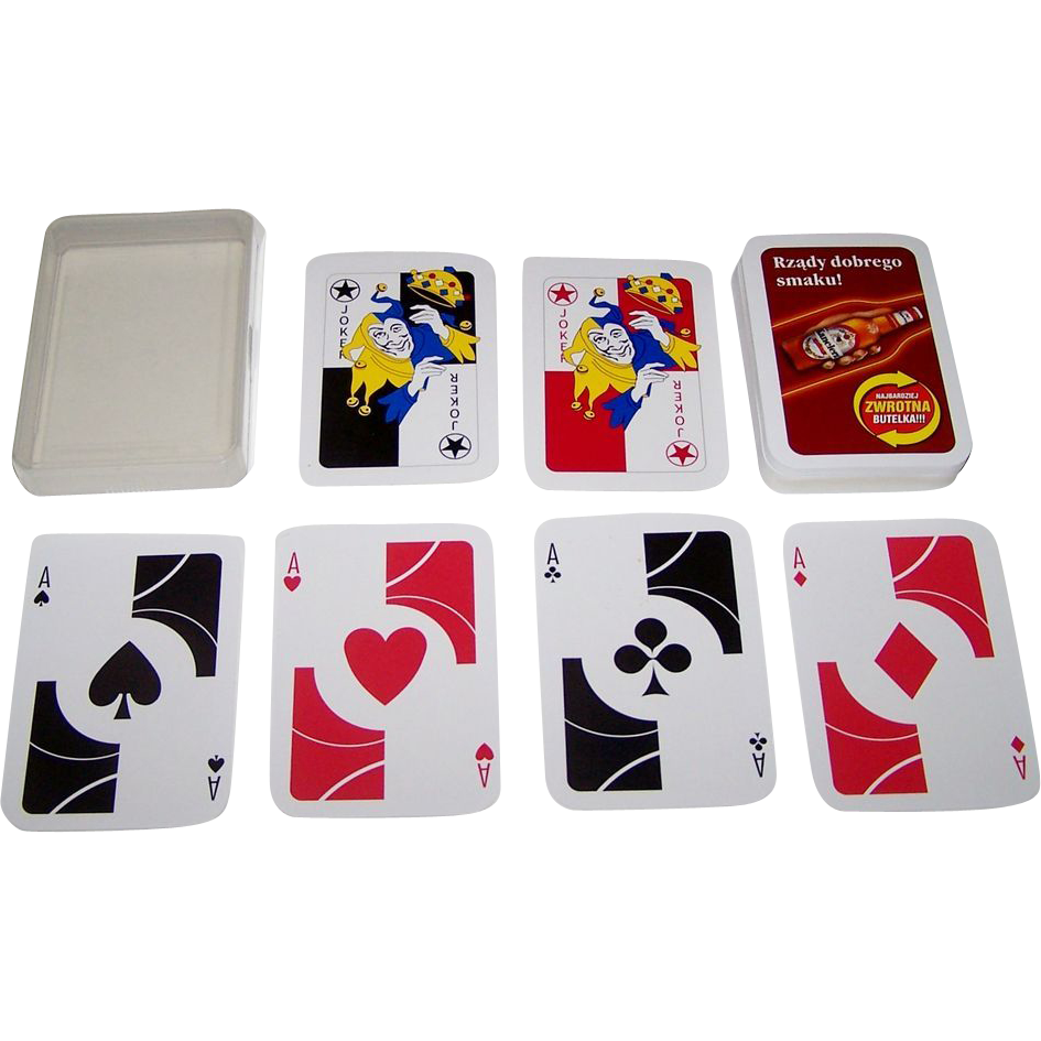 "Poland ""Kanclerz Beer"" Playing Cards, Maker Unknown"
