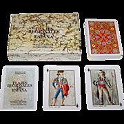 "Fournier ""Trajes Regionales de Espana"" (""Regional Costumes of Spain"") Playing Cards, c.1967"
