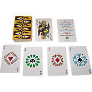 "Grimaud ""Les Quatre Saisons"" Playing Cards, Jean Picart Le Doux Designs, c.1964"