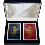 "Double Deck Special Design Products (Waddington) ""Royal and Ancient Golf Club of St. Andrews"" Playing Cards, c.1990"