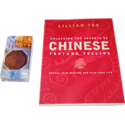 "AG Muller ""The I Ching"" Divination Cards ($25), and Lillian Too ""Understanding the Secrets of Chinese Fortune Telling"" Book ($15)"