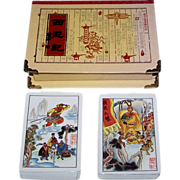 Double Deck Chinese Playing Cards, Custom Box