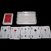 """Double Deck F.X. Schmid """"Golf"""" Playing Cards, Joerk Reitz Designs"""