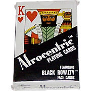 """Brown & Bigelow (?) """"Afrocentric"""" Playing Cards, Blacks Factor Publisher, c.1985"""