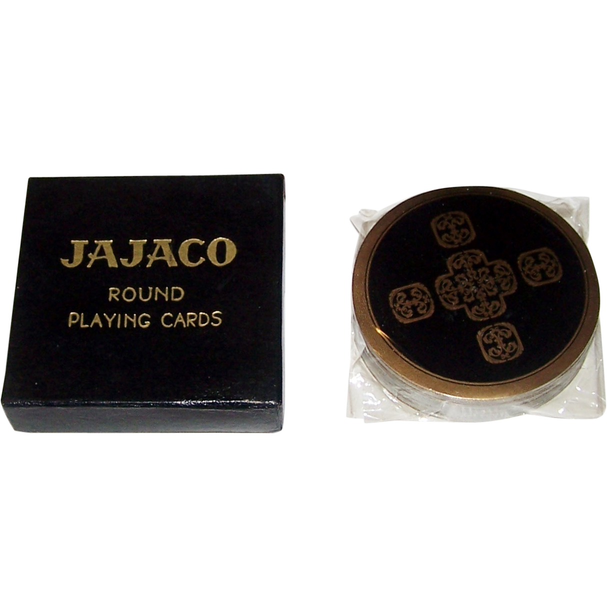 "Ace ""Jajaco"" Round Playing Cards, ""Star Trek"" Cards, c.1962"