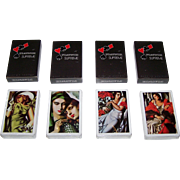 "4 Decks Piatnik ""Tamara Lempicka"" Playing Cards, $10/ea."