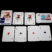 """F.X. Schmid """"Olsen Spelkort Smygvänliga"""" Swedish Pattern (Schmid Variant) Playing Cards, c.1978"""