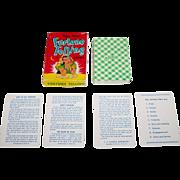 """E.E. Fairchild """"Gypsy Queen"""" Fortune Telling Cards, c.1946"""