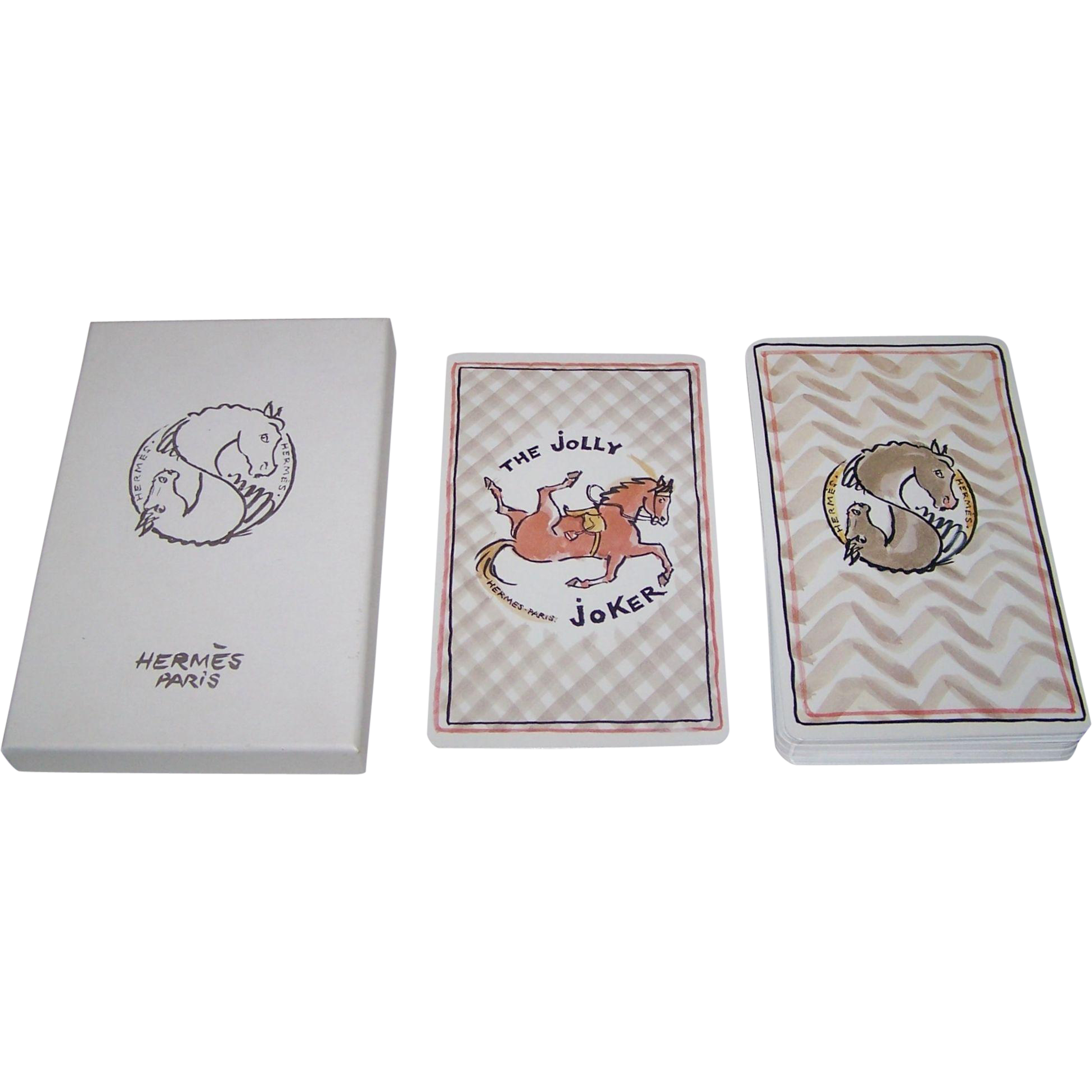 "Hermes ""Holidays"" Oversize Playing Cards"
